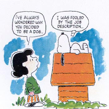 This cartoon of Snoopy was Googled.