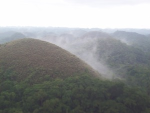Chocolate Hills at Carmen - After the Rain