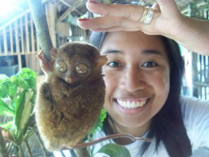 The tarsier at Loboc